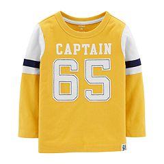 Toddler Boy Carter's 'Captain 65' Applique Tee