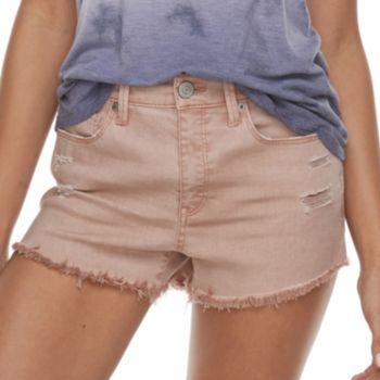 Juniors' Mudd® Frayed Shorts