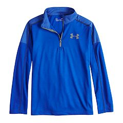 Boys 8-20 Under Armour  Tech Quarter-Zip Tee