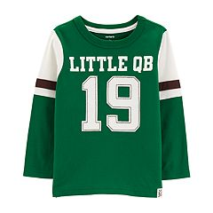 Toddler Boy Carter's 'Little QB 19' Applique Tee