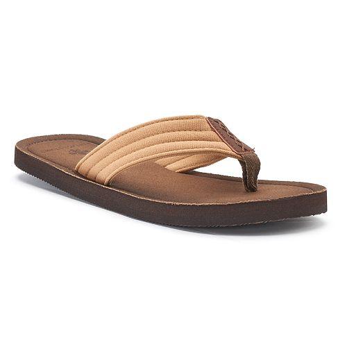 Men's Vintage Stone Basic ... Thong Flip-Flop Sandals qnE6j