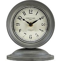 FirsTime Graham Shabby Chic Table Clock