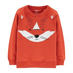 Toddler Boy Carter's Fox 3-D Ears Pullover Sweatshirt