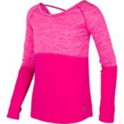 Girls 7-16 New Balance Long Sleeve Catonic Perforated Top