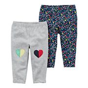 Baby Girl Carter's 2-Pack Print Pants