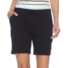 Women's Croft & Barrow® Knit Berumda Shorts