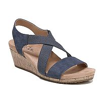 LifeStride Mexico Women's Wedge Sandals