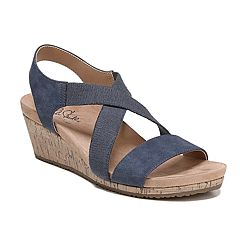 82455e19d LifeStride Mexico Women s Wedge Sandals