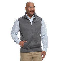 Big & Tall IZOD Spectator SportFlex Classic-Fit Stretch Fleece Vest