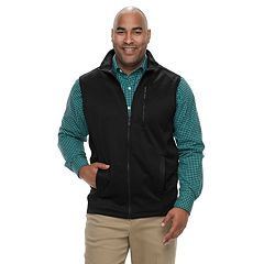 Big & Tall IZOD Spectator SportFlex Classic-Fit Stretch Fleece Vest