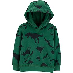 Toddler Boy Carter's Dinosaurs Pullover Hoodie