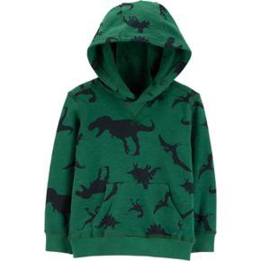 Toddler Boy Carter's Dinosaurs Pullover Hoodie
