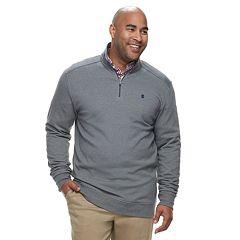 Big & Tall IZOD Advantage SportFlex Classic-Fit Performance Stretch Fleece Quarter-Zip Pullover
