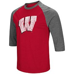 Men's Campus Heritage Wisconsin Badgers Moops Tee