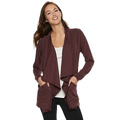 846c8ad178 Women s SONOMA Goods for Life™ Supersoft Cascade Cardigan