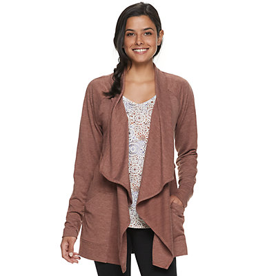 Women's SONOMA Goods for Life? Supersoft Cascade Cardigan