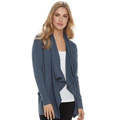 Women's SONOMA Goods for Life™ Soft Touch Cascade Cardigan