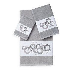 Linum Home Textiles Annabelle 3 pc Embellished Bath Towel Set