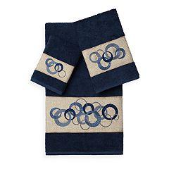 Linum Home Textiles Annabelle 3-piece Embellished Bath Towel Set