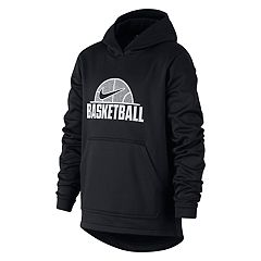 415f317efa7 Boys 8-20 Nike Therma Basketball Pullover Hoodie. Game Royal Black White  Anthracite