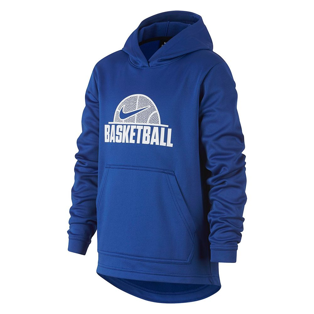 Boys 8-20 Nike Therma Basketball Pullover Hoodie