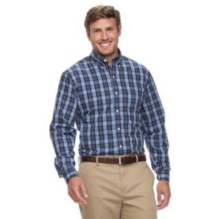 Big & Tall IZOD Premium Essentials Classic-Fit Stretch Button-Down Shirt