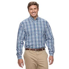 Big & Tall IZOD Premium Essentials Classic-Fit Stretch Button-Down Shirt