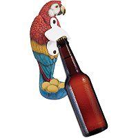 Wembley Mounted Parrot Bottle Opener