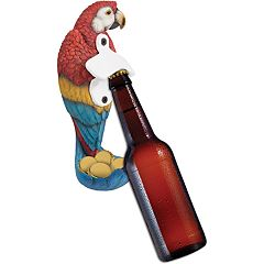 Wembley Mounted Parrot Bottle Opener