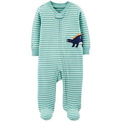 Baby Boy Carter's Striped Dinosaur Sleep & Play