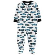 Toddler Boy Carter's Police Car Footed Pajamas