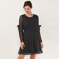 Women's LC Lauren Conrad Bell Sleeve A-Line Dress