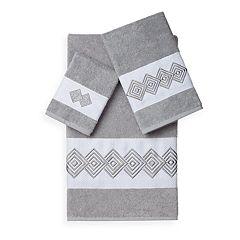 Linum Home Textiles Noah 3 pc Embellished Bath Towel Set
