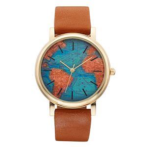Women's World Map Watch