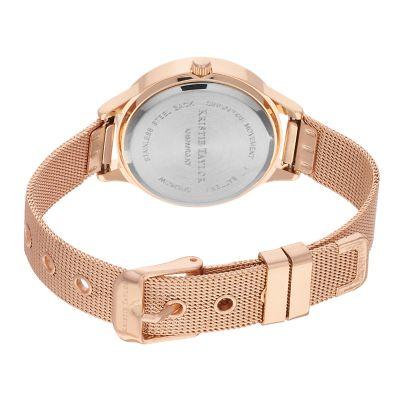 Kristie Taylor Women's Diamond Accent Mesh Band Watch & Bracelet Set - KH8066RG.KT