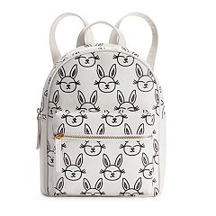 Glitter Bunny Mini Backpack