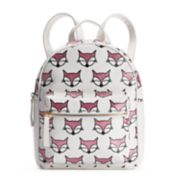 OMG Accessories Glitter Fox Mini Backpack
