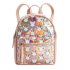OMG Accessories Glitter Unicorn Hologram Mini Backpack