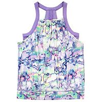 Girls 7-16 New Balance Fashion Performance Tank Top with Built-In Bra