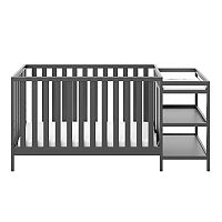 Stork Craft Pacific 4-in-1 Convertible Crib & Changer