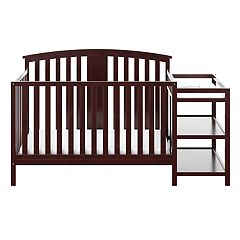 Stork Craft Greyson 4-in-1 Convertible Crib & Changer