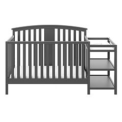 Stork Craft Greyson 4-in-1 Convertible Crib & Changer