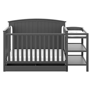 Storkcraft Steveston 4-in-1 Convertible Crib & Changer with Drawer