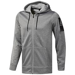Men's Reebok Full-Zip Fleece Hoodie