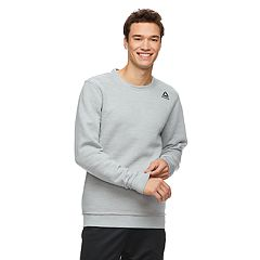 Men's Reebok Unfinished Hem Fleece