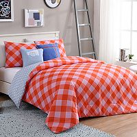 VCNY Checker Comforter Set