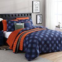 VCNY Checker Comforter Set