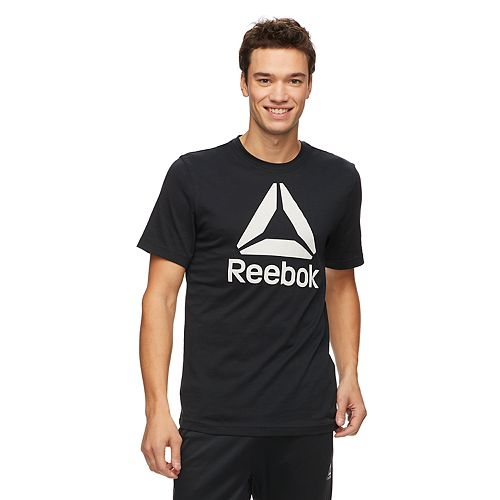 45eb1f2a43 Men's Reebok QQR Stacked Tee