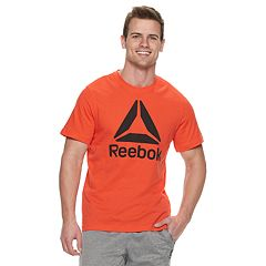 Men's Reebok QQR Stacked Tee
