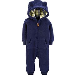 Baby Boy Carter's Hooded Coverall